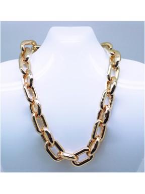 Collar Dorado Eslabones
