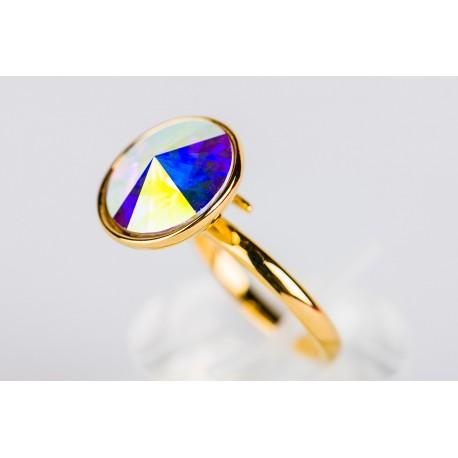 f7785346b0fd Anillo Swarovski aurora boreal - Mic Mac Creaciones sl