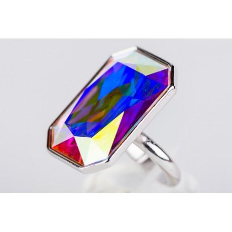 64e08f31368d Anillo Swarovski Aurora Boreal - Mic Mac Creaciones sl