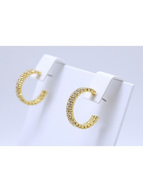 Criolla Doble 20MM Gold Color + Simil