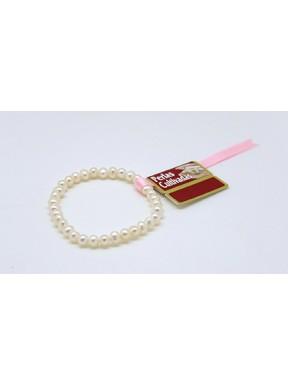 Pulsera Elástica Perlas Cultivadas 6mm